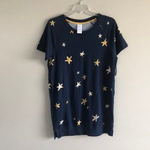 NWT Star Sleep Shirt